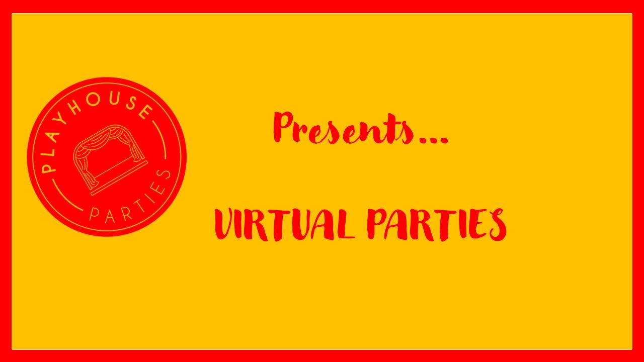 Virtual Kids Birthday Parties